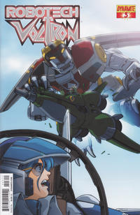 Cover Thumbnail for Robotech / Voltron (Dynamite Entertainment, 2013 series) #3