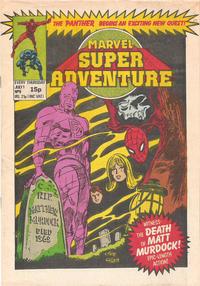 Cover Thumbnail for Marvel Super Adventure (Marvel UK, 1981 series) #9