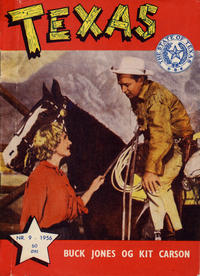 Cover Thumbnail for Texas (Serieforlaget / Se-Bladene / Stabenfeldt, 1953 series) #9/1956