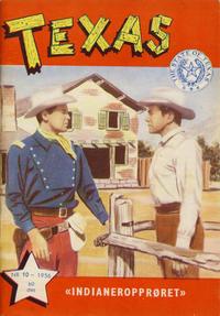 Cover Thumbnail for Texas (Serieforlaget / Se-Bladene / Stabenfeldt, 1953 series) #10/1956