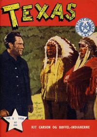 Cover Thumbnail for Texas (Serieforlaget / Se-Bladene / Stabenfeldt, 1953 series) #8/1956