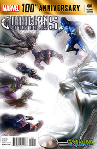 Cover Thumbnail for 100th Anniversary Special: Guardians of the Galaxy (Marvel, 2014 series) #1 [2014 Wizard World Chicago Comic Con Exclusive Fade Variant by Greg Horn]