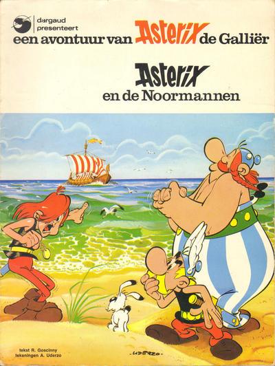 Cover for Asterix (Amsterdam Boek, 1970 series) #[9] - Asterix en de Noormannen