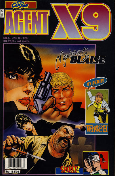 Cover for Agent X9 (Semic, 1976 series) #5/1996