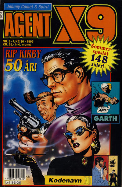 Cover for Agent X9 (Semic, 1976 series) #8/1996
