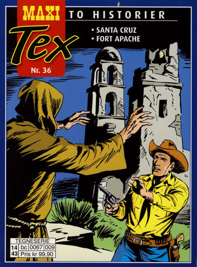 Cover for Maxi Tex (Hjemmet / Egmont, 2008 series) #36