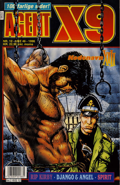 Cover for Agent X9 (Semic, 1976 series) #12/1996