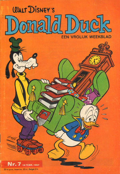 Cover for Donald Duck (Geïllustreerde Pers, 1952 series) #7/1967
