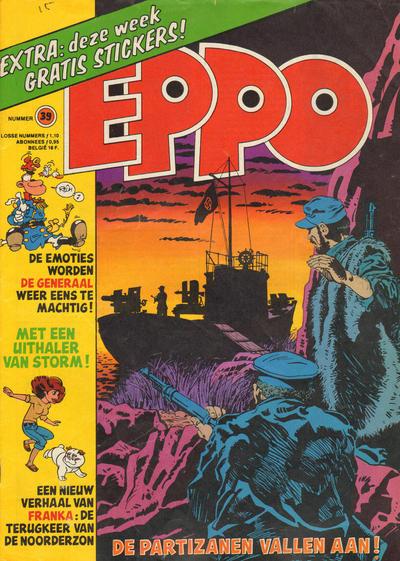 Cover for Eppo (Oberon, 1975 series) #39/1977