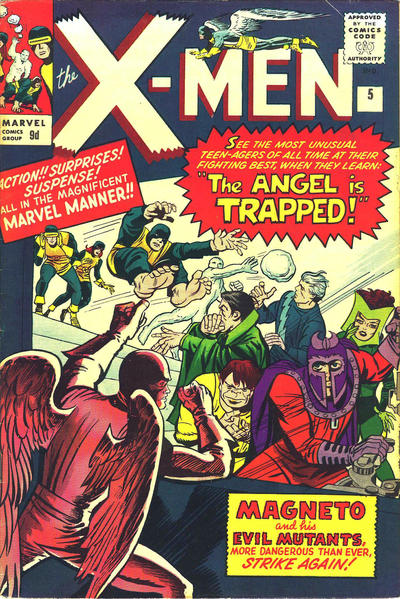Cover for The X-Men (Marvel, 1963 series) #5