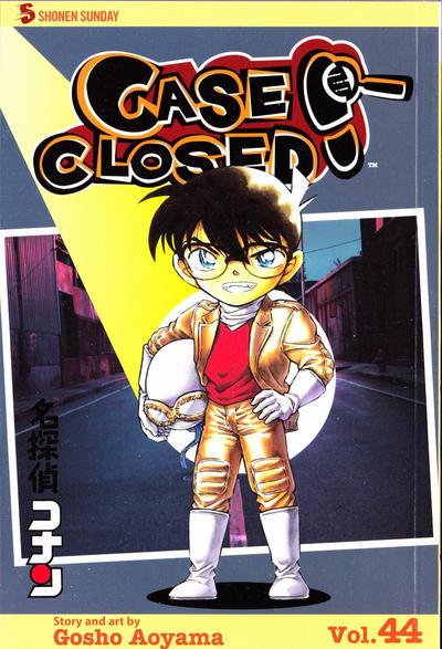 Cover for Case Closed (Viz, 2004 series) #44
