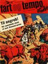 Cover for Fart og tempo (Egmont, 1966 series) #7/1967