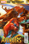 Cover Thumbnail for 100th Anniversary Special: Avengers (2014 series) #1 [Alexander Lozano Variant]