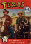Cover for Texas (Serieforlaget / Se-Bladene / Stabenfeldt, 1953 series) #11/1954
