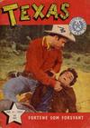 Cover for Texas (Serieforlaget / Se-Bladene / Stabenfeldt, 1953 series) #4/1955