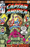 Cover for Captain America (Marvel, 1968 series) #243 [Direct]