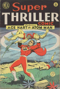 Cover for Super Thriller Comic (World Distributors, 1947 series) #16