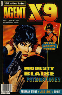 Cover Thumbnail for Agent X9 (Semic, 1976 series) #7/1997