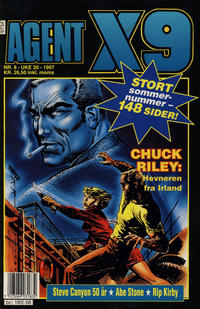 Cover Thumbnail for Agent X9 (Semic, 1976 series) #8/1997
