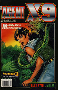 Cover Thumbnail for Agent X9 (Semic, 1976 series) #9/1997