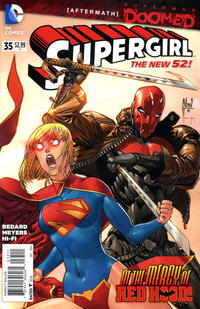 Cover Thumbnail for Supergirl (DC, 2011 series) #35 [Direct Sales]