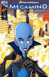 Cover Thumbnail for DreamWorks' Megamind: Bad. Blue. Brilliant (Ape Entertainment, 2010 series) #3