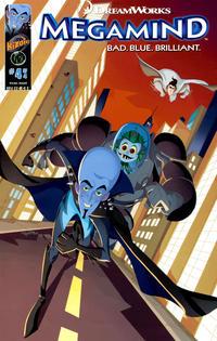 Cover Thumbnail for DreamWorks' Megamind: Bad. Blue. Brilliant (Ape Entertainment, 2010 series) #4