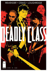 Cover Thumbnail for Deadly Class (Image, 2014 series) #7