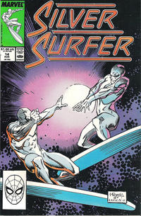 Cover Thumbnail for Silver Surfer (Marvel, 1987 series) #14 [Direct]