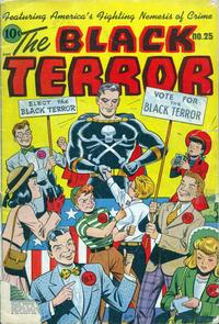 Cover Thumbnail for Black Terror Comics (Better Publications of Canada, 1948 series) #25