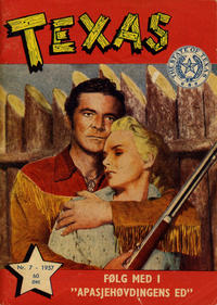 Cover Thumbnail for Texas (Serieforlaget / Se-Bladene / Stabenfeldt, 1953 series) #7/1957