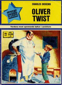Cover Thumbnail for Stjerneklassiker (Illustrerte Klassikere / Williams Forlag, 1969 series) #17 - Oliver Twist