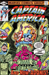 Cover Thumbnail for Captain America (Marvel, 1968 series) #243 [Direct Edition]