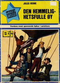Cover Thumbnail for Stjerneklassiker (Illustrerte Klassikere / Williams Forlag, 1969 series) #19 - Den hemmelighetsfulle øy