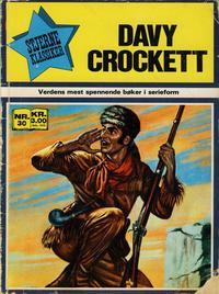 Cover Thumbnail for Stjerneklassiker (Illustrerte Klassikere / Williams Forlag, 1969 series) #30 - Davy Crockett