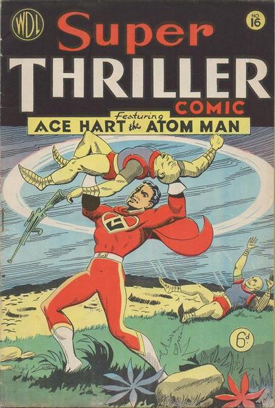 Cover for Super Thriller Comic (World Distributors, 1947 series) #16