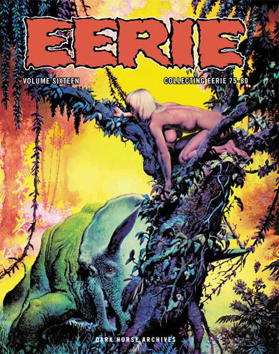 Cover for Eerie Archives (Dark Horse, 2009 series) #16