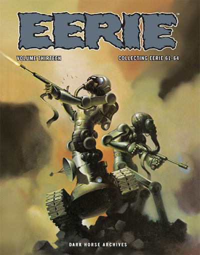 Cover for Eerie Archives (Dark Horse, 2009 series) #13