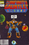 Cover Thumbnail for The Infinity Gauntlet (1991 series) #4 [Newsstand]