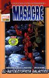 Cover for Colección Extra Superhéroes (Panini España, 2011 series) #38 - Masacre 4: El autoestopista galáctico