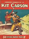 Cover for Cowboy Comics (Amalgamated Press, 1950 series) #70