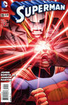 Cover for Superman (DC, 2011 series) #35 [Direct Sales]