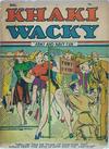 Cover for Khaki Wacky (Centaur, 1941 series) #1