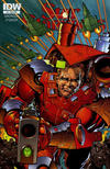Cover for Star Slammers (IDW, 2014 series) #4 [Subscription Cover]