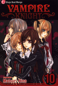 Cover Thumbnail for Vampire Knight (Viz, 2007 series) #10