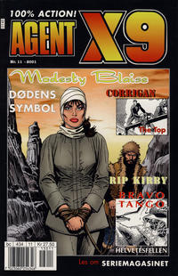 Cover Thumbnail for Agent X9 (Hjemmet / Egmont, 1998 series) #11/2001