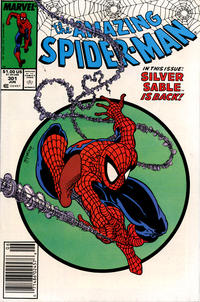 Cover Thumbnail for The Amazing Spider-Man (Marvel, 1963 series) #301 [Newsstand]