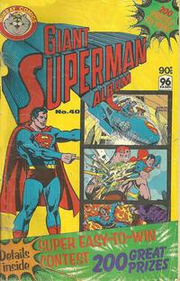 Cover Thumbnail for Giant Superman Album (K. G. Murray, 1963 ? series) #40