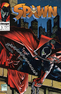 Cover Thumbnail for Spawn (Image, 1992 series) #5