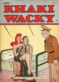 Cover Thumbnail for Khaki Wacky (Hardie-Kelly, 1941 series) #7